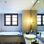 Bathroom Two Bedroom Apartment Suite (2)